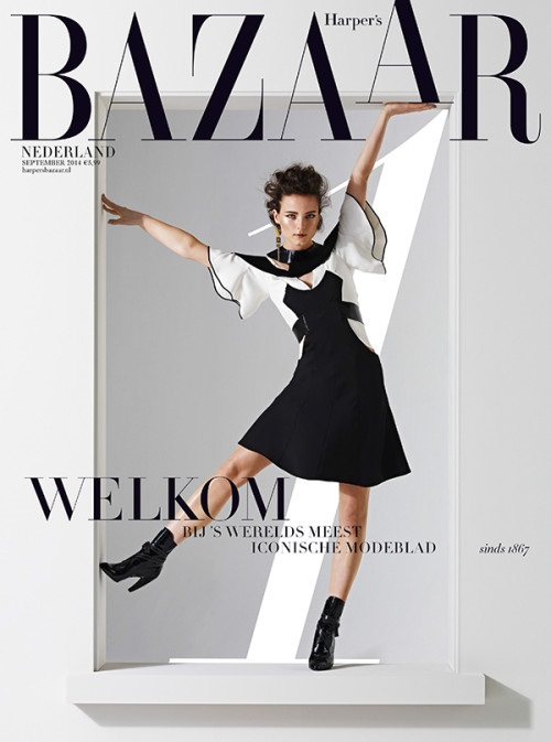 Harper's Bazaar Netherlands September 2014