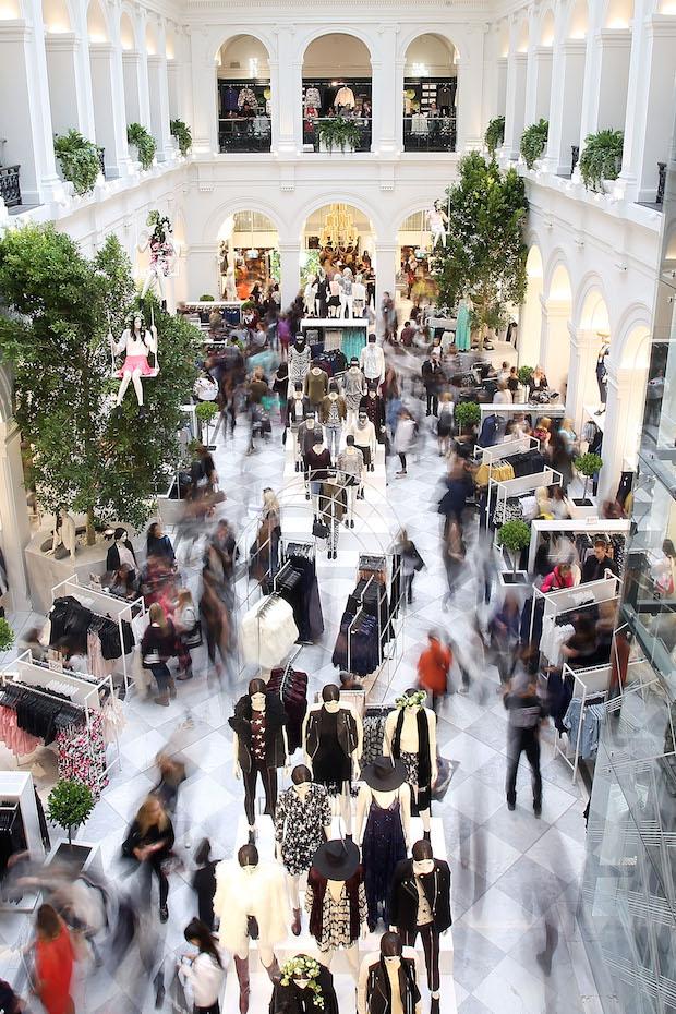 H&M Sydney Opening