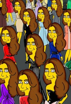Kate Middleton Gets Simpsonized