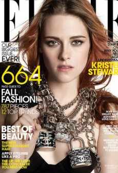 Kristen Stewart Doesn't Even Bother to Smize for ELLE September Cover (Forum Buzz)