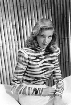 Lauren Bacall's Most Smoldering Glances