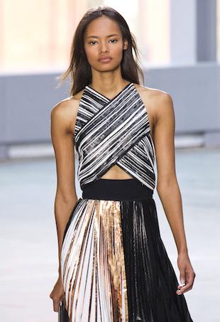 Crisscross clothing trend