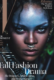 See 'Wild Child' Rihanna on the Cover of W's September Issue (Forum Buzz)