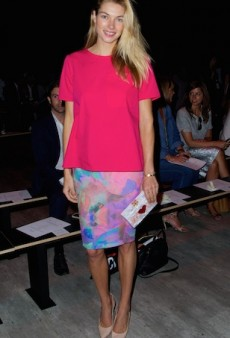Stylish Aussie Celebs Step out for the TOME NYFW 2014 Show