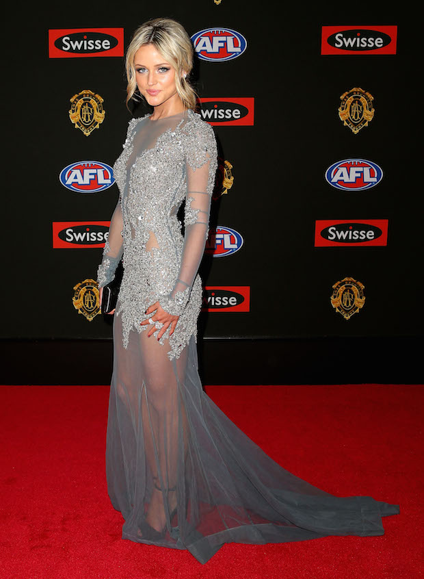 WAGs Steal the Show at the 2014 Brownlow Medal - theFashionSpot
