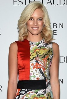 Cody Horn Plays Up Patchwork in Jonathan Saunders