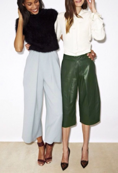 Tackle This Season's Tricky Trend: Culottes