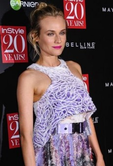 Diane Kruger Scores a Prabal Gurung Ensemble Straight Off the Runway