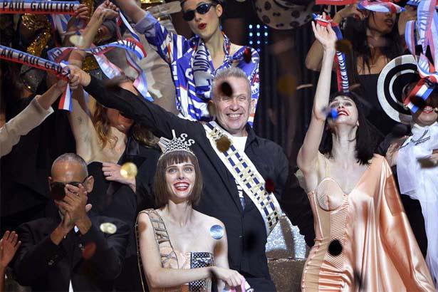 Jean Paul Gaultier's S/S 2015 finale.
