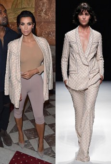 Runway to Real Life: Kim Kardashian in Balmain, Cate Blanchett in Christian Dior Couture and More (Forum Buzz)
