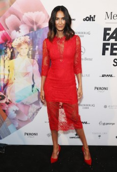 The Fashion Pack Step Out for Mercedes-Benz Fashion Festival Sydney
