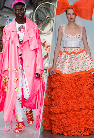 Meadham Kirchoff Spring 2015; Sibling Spring 2015