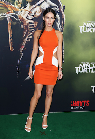 Megan Fox Ninja Turtles Sydney Premiere