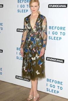 Nicole Kidman Nails a Moss-Green Valentino Piece