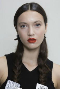 Spring 2015 Lipstick Trend: Orange Is the New Red