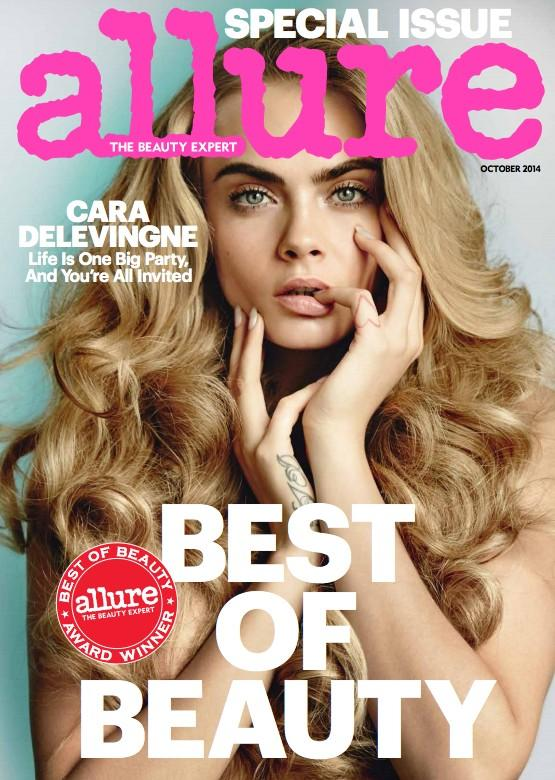 Allure Oct 14 Cara Delevingne