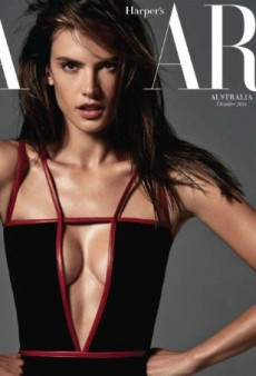 A Sultry Alessandra Ambrosio Stuns on Harper's Bazaar Australia's October Cover (Forum Buzz)