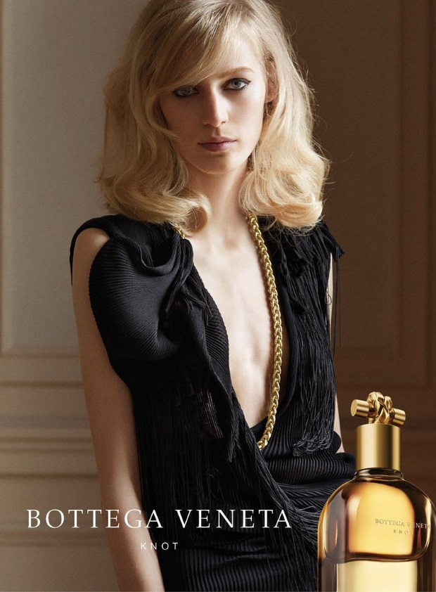Ad Campaign Bottega Veneta Knot Fragrance Julia Nobis