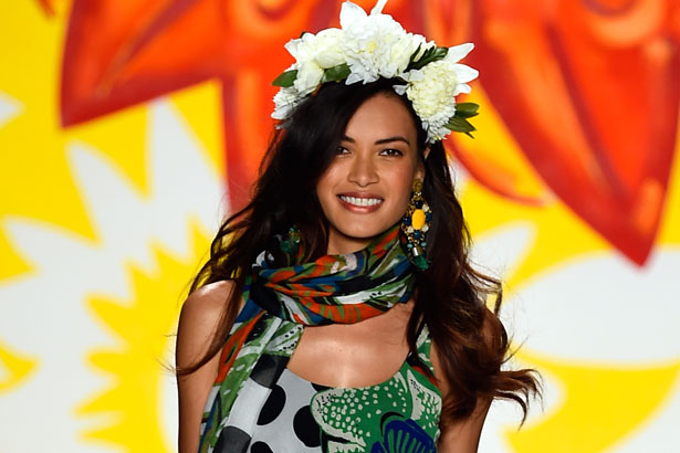 Desigual beauty look Spring 2015