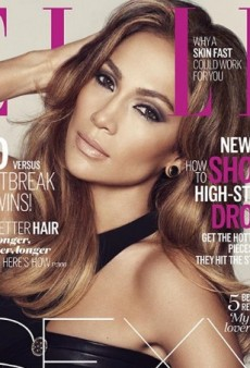 A 'Photogenic' Jennifer Lopez Wears Versace on UK ELLE's October Cover (Forum Buzz)