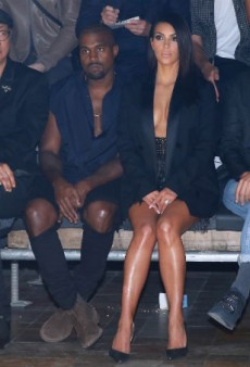 Kim Kardashian and Kanye West Made Everyone Wait for 40 Minutes at the Lanvin Show