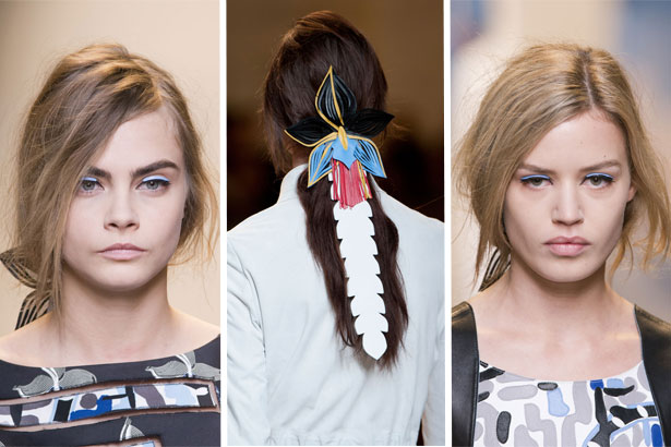 FENDI SPRING 2015; IMAGES: IMAXTREE
