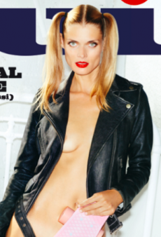 Malgosia Bela Covers Up with Just a Skateboard on Lui's October Cover (Forum Buzz)
