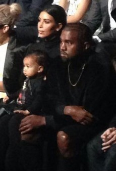 North West Makes Her Paris Fashion Week Debut at Balenciaga, Kills It