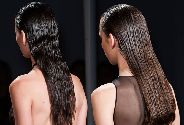 Sophie Theallet Spring 2015 hair look