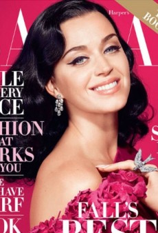 Katy Perry Goes Pretty in Pink for Harper's Bazaar October Cover (Forum Buzz)