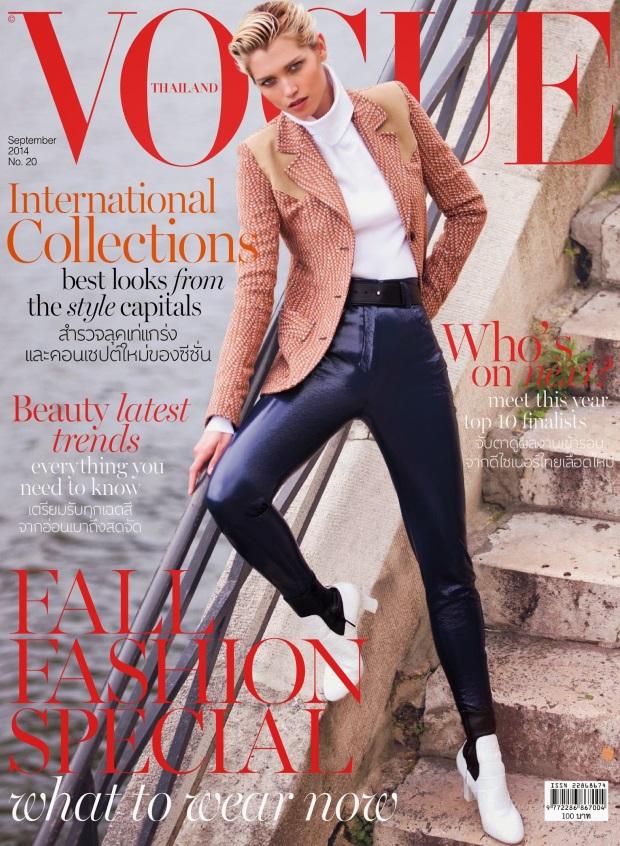 Vogue Thailand Sept 14 Hana Jirickova