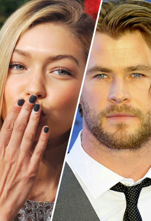 Chris Hemsworth Gigi Hadid
