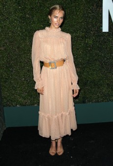 Isabel Lucas' Boho-Grandma Outfit for Michael Kors' Young Hollywood Launch Has Our Heads in a Spin