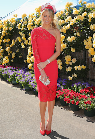 Jennifer Hawkins Spring Racing