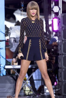 Taylor Swift Rocks Circus-Inspired Sass & Bide for GMA Performance in New York