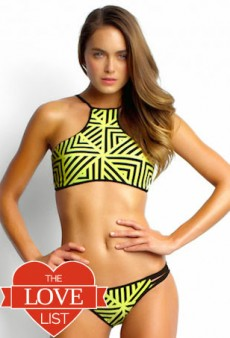 High-Neck Bikini Tops: The Love List