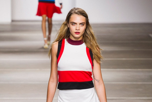 Topshop Unique Spring 2015; image: Imaxtree