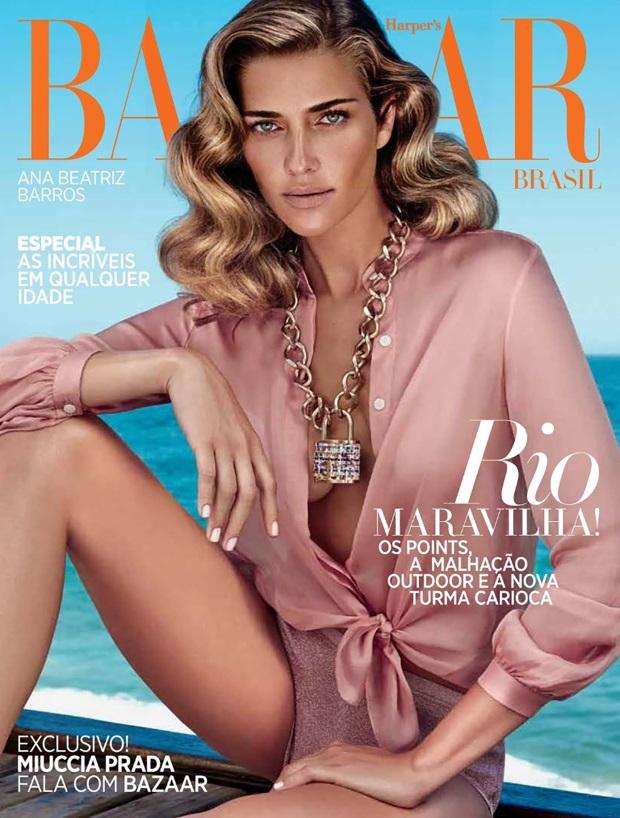 Harper's Bazaar Brazil October 2014 Ana Beatriz Barros