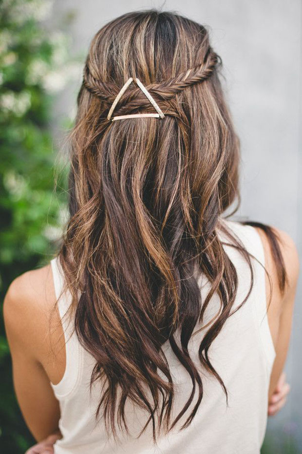 Use Bobby Pins for This Easy and Pretty Hairstyle