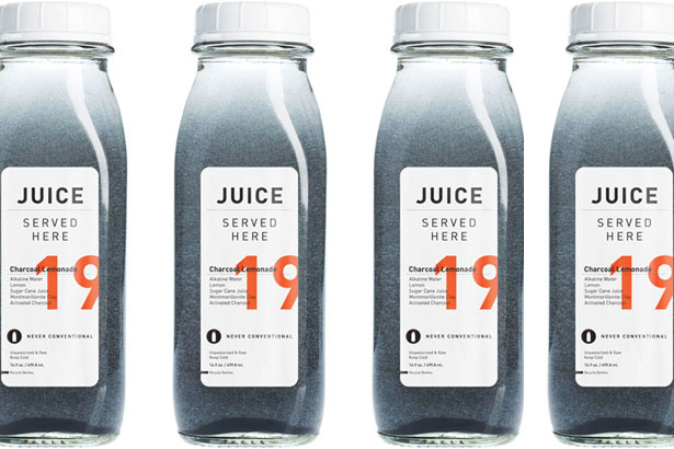 Juices Served Here Charcoal Lemonade
