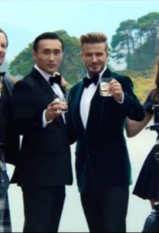 Tuesday Treat: Watch David Beckham Looking Sexy on a Motorcycle and in a Suit for Haig Club Whiskey