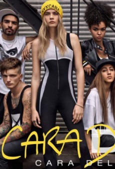 Here's the Ad for Cara Delevingne's Collaboration with DKNY