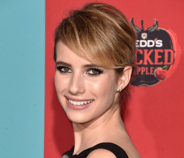 EMMA ROBERTS AT THE LOS ANGELES PREMIERE OF AMERICAN HORROR STORY