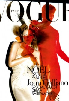Flashback: Vogue Paris December 2006/January 2007 with Drew Barrymore by Nick Knight