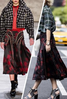 See How These Style Stars Rock Spring 2014 Trends Off the Runway