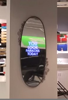 IKEA's New Mirror Thinks You're Gorgeous