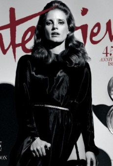 Jessica Chastain Does Her Best Lana Del Rey Impression on Interview's 45th Anniversary Cover (Forum Buzz)