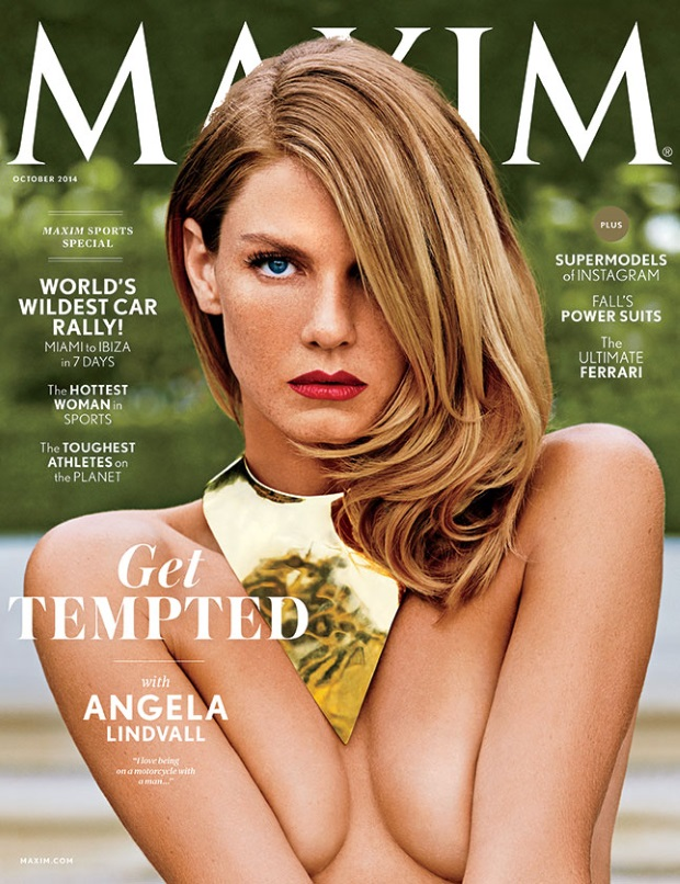 Maxim October 2014 Angella Lindvall