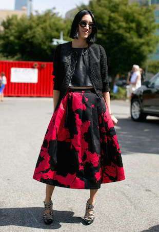 Midi Skirts Street Style