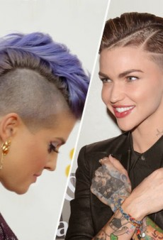 "Ruby Rose Bites Back at ""Balding Man"" for Dissing Kelly Osbourne at the Airport"